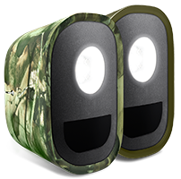 Set of 2 Skins in Camouflage for Arlo Security Light (ALA1100)