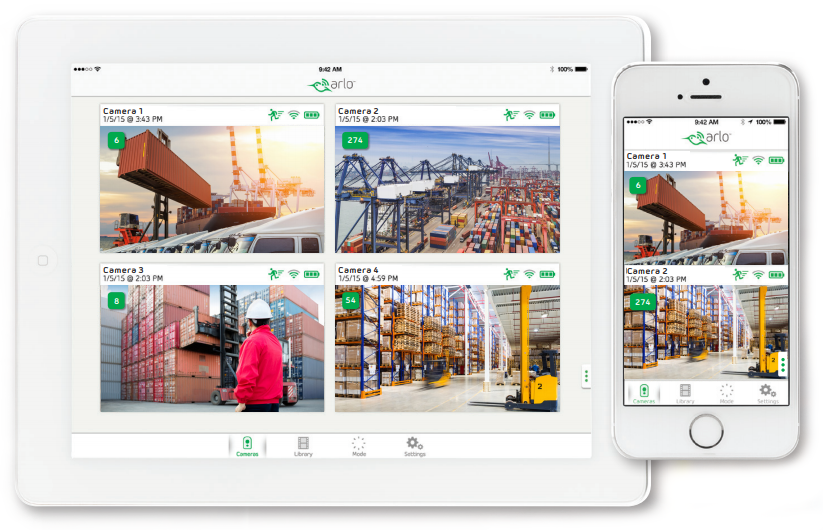 Ports, Terminals, Warehouses & Container Yards App
